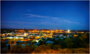 Mount Isa at night